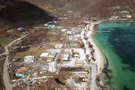 Tortola island of Jost Van Dyke (credit: UK Ministry of Defence)