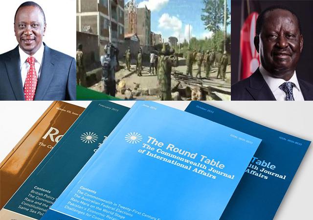 Uhuru Kenyatta, conflict in Kenya, Raila Odanga, Round Table Journal.