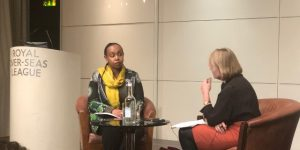 HE Ms Yamina Karitanyi, High Commissioner for Rwanda in conversation with Sue Onslow
