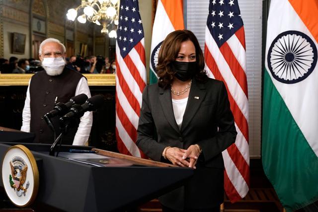 Prime Minister Modi and Vice President Harris in Washington